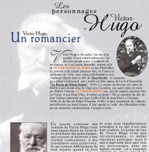Les personnages de Victor Hugo