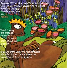Le Puceron et la fourmi