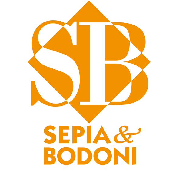 Sepia & Bodoni